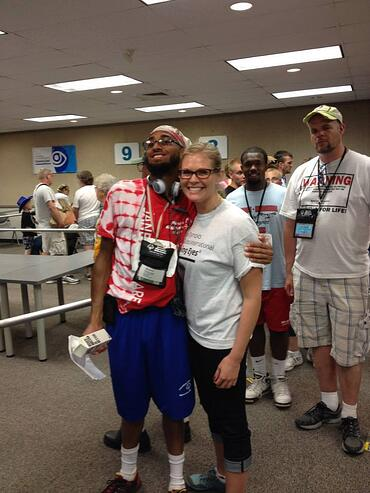 Dr._Tessa_Sokol_with_a_Special_Olympics_athlete