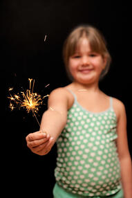 Should children be allowed to play with fireworks?
