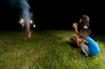 Alarming statistics about eye injuries from fireworks