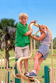 Functional vision problems can affect playground play