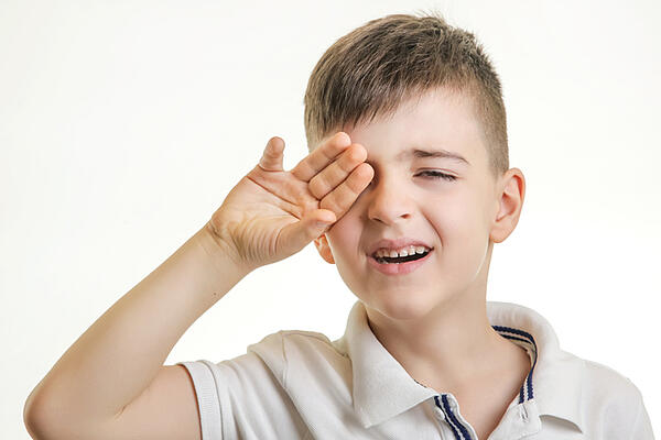An Unexpected Reason Why Your Child's Eyes Hurt