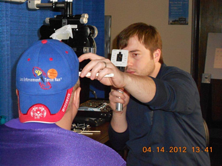 The Vision Therapy Center at the Special Olympics
