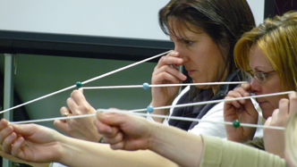 How the Brock String is used in Vision Therapy.