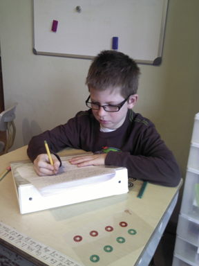 The boy who couldn't remember his numbers