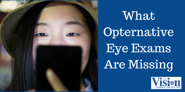 What Opternative Eye Exams Are Missing