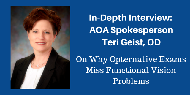 Interview with Teri Geist, OD