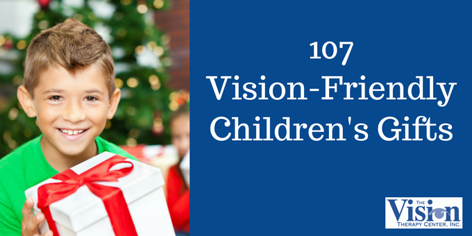 2017 Vision-Friendly Gift List: 107 Optometrist-Approved Children's Toys