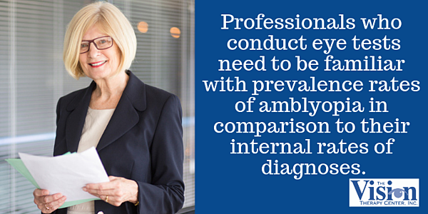 Professionals need to know how their diagnoses rates compare.