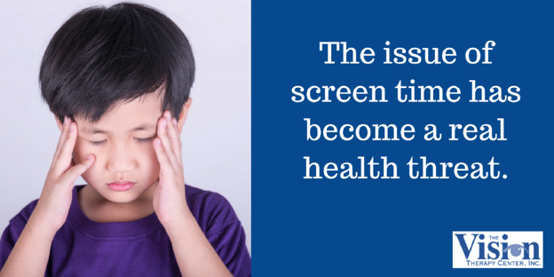 Screen time has become the real health threat.