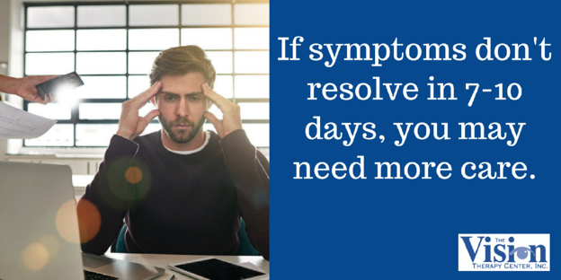 Symptoms typically resolve in 7-10 days.