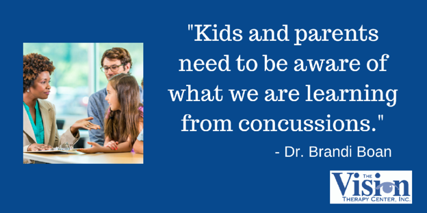 We need to be aware of what is being learned about concussions.