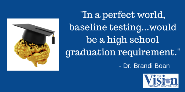 Baseline testing should be a graduation requirement.
