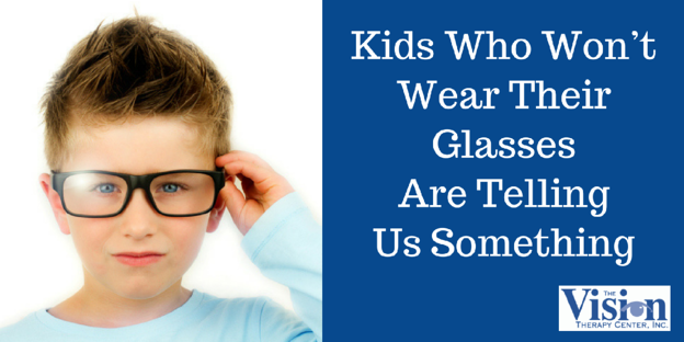 Kids Who Won't Wear Their Glasses Are Telling Us Something