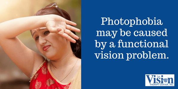 Photophobia is extreme sensitivity to light.