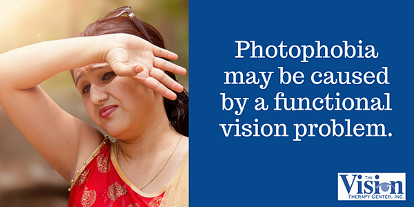 Photophobia is extreme sensitivity to light.