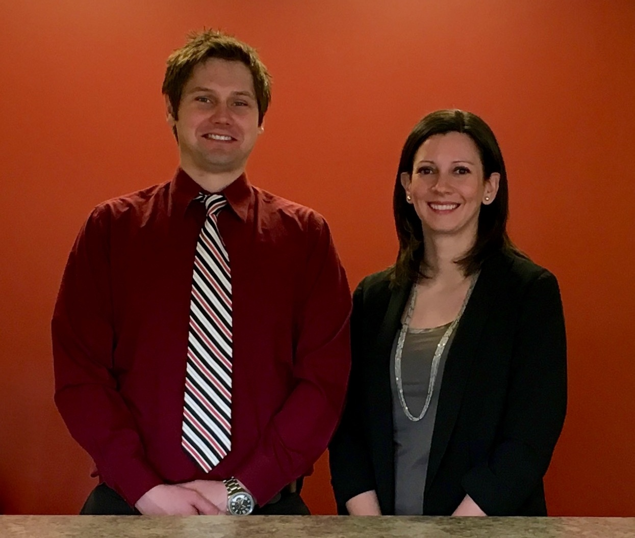 Dr. Ryan Edwards and Dr. Lindsey Stull