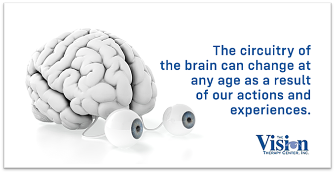 The brain's circuitry can change at any age.