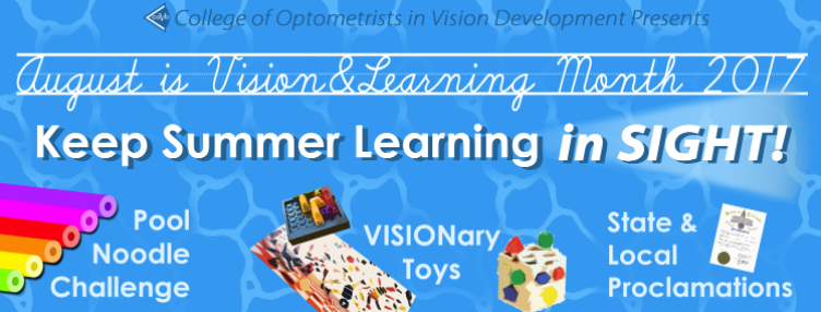 Vision and Learning: 6 Links to Help Parents Keep Summer Learning in SIGHT!