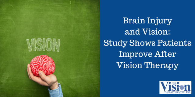 Brain Injury and Vision: Study Shows Patients Improve After Vision Therapy
