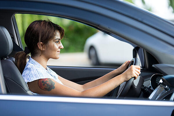 Undetected vision problems affect driving