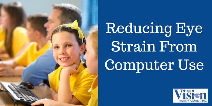 Reducing Eye Strain From Computer Use