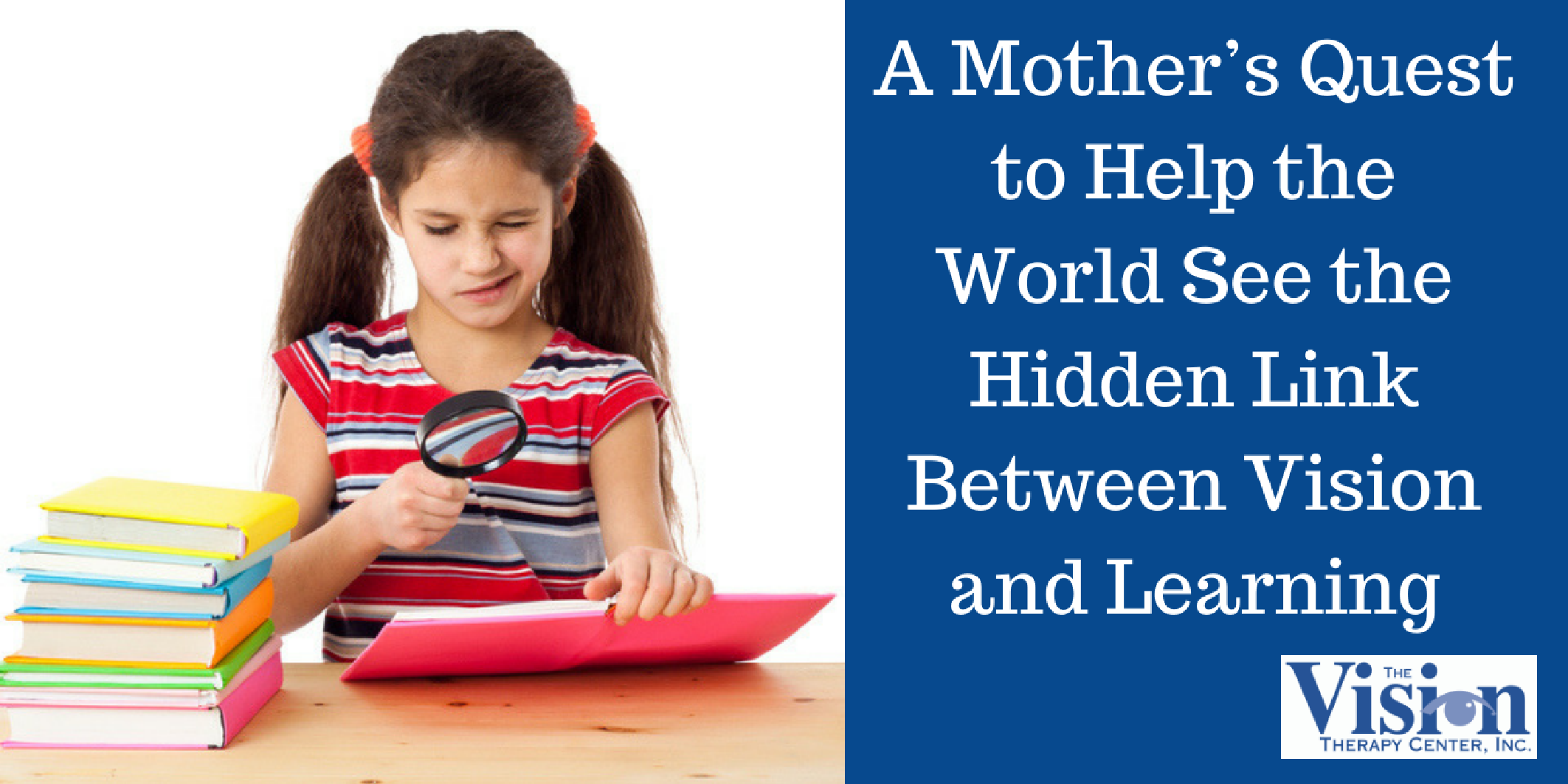 The Link Between Learning And Child >> A Mother S Quest To Help The World See The Hidden Link Between