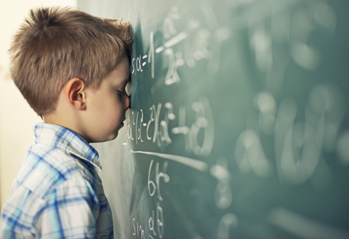 Learning Math:  Why a Vision Problem May be Holding You Back
